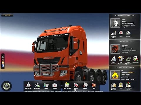 ETS2 How Disable speed limiter (Euro Truck Simulator 2)