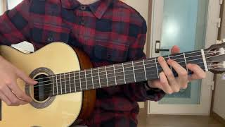 클래식 기타 연습 [2일차] - La Cucaracha