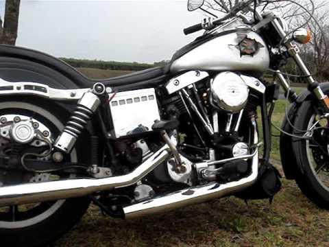 1979 Harley Davidson FXS Shovelhead Exhaust