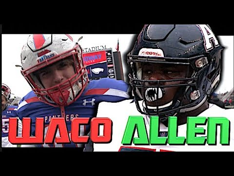 #2 Team In The Nation Allen High v Waco Midway | 🔥🔥 TEXAS Class 6A D1 Quarterfinal at McLane Stadium
