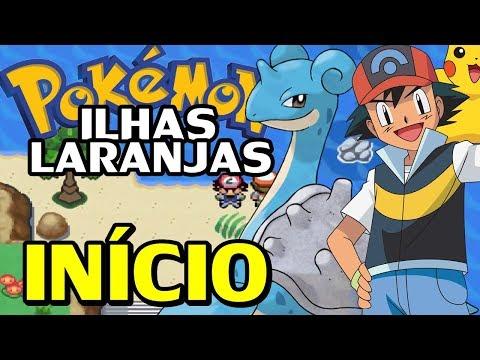 Pokémon Orange Islands (Hack Rom) - O Início das Ilhas Laranjas!