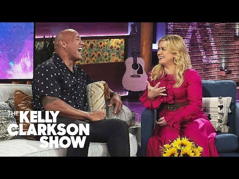 Kathy With a K - Dwayne Johnson talks Gratitude! on the Kelly Clarkson Show