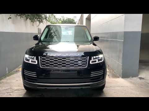 New Range Rover LWB Autobiography P400e Model 2021 Black Color