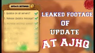 How Ajhq Makes Updates... ll Animal Jam LEAKED FOOTAGE ll  (Sattire video with important message)