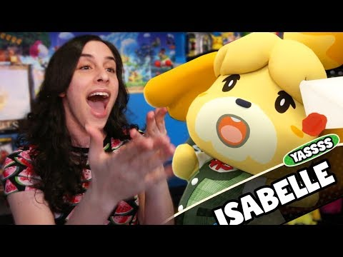 Isabelle SAVES Nintendo Direct 9.13.18 Reaction + Luigi\'s Mansion 3 & Animal Crossing! - JustJesss