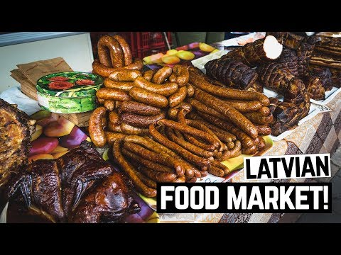 Latvian Food Festival and Markets! + Eating Baked Ants and Bees 🐜🐝 (Riga, Latvia)