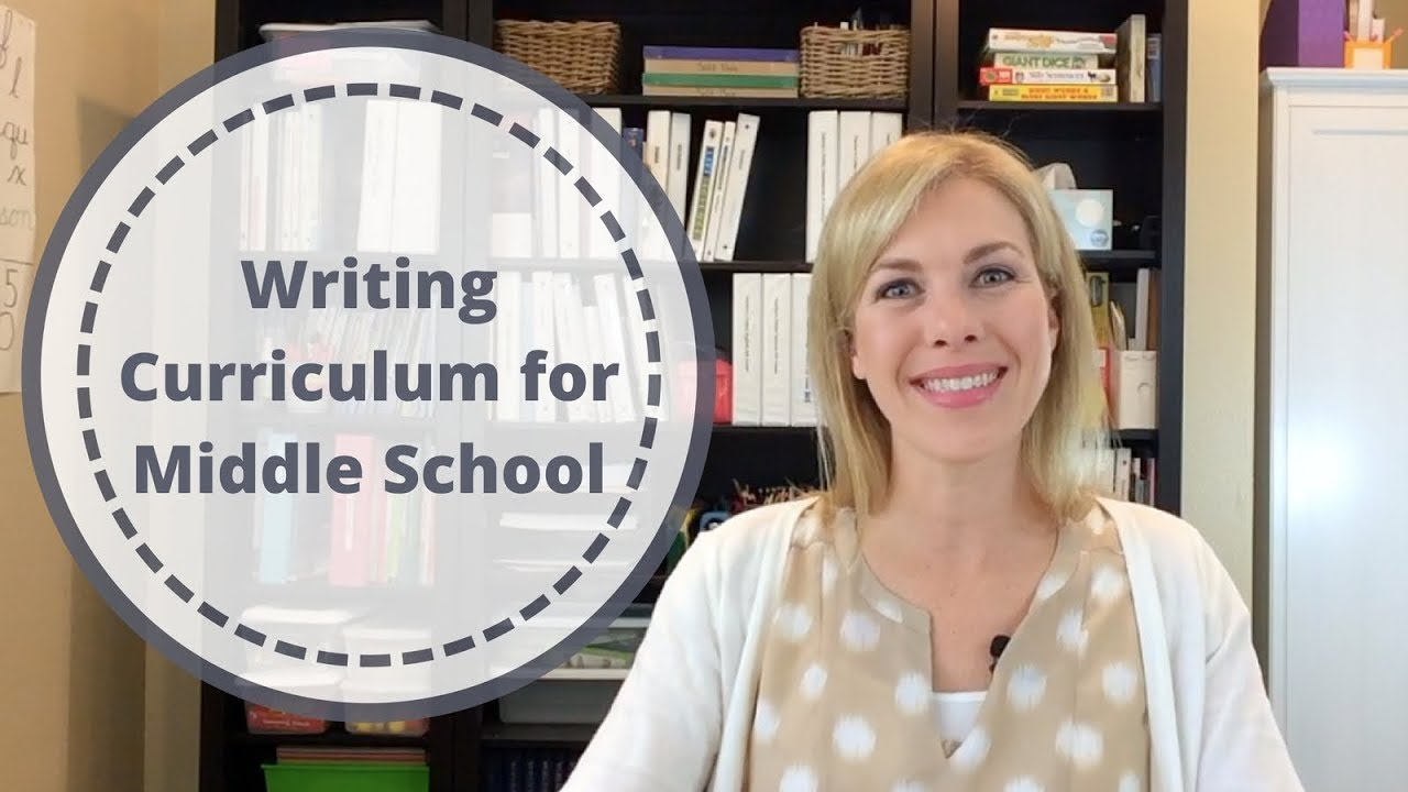 Writing Curriculum For Middle School Youtube