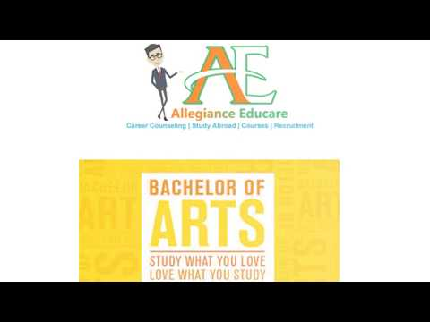 Career in Bachelor of Arts
