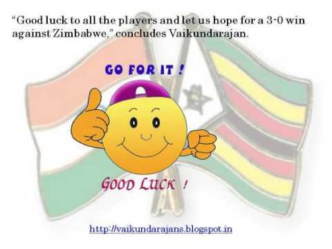 Thumbnail for Vaikundarajan On India's 2nd ODI Victory Over Zimbabwe