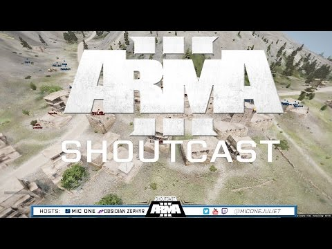 ARMA 3 ShoutCast - 115 Player Battle - Ep. 19