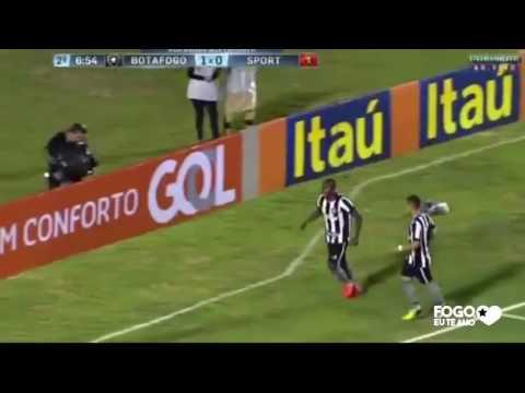 Botafogo 3 x 0 Sport - 20-08-2016 - Campeonato Brasileiro - Gols da Zoeira