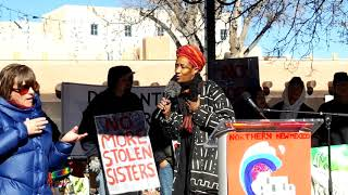 WOMEN'S MARCH SANTA FE  2019 – SANTA FE PLAZA –  Oriana Lee