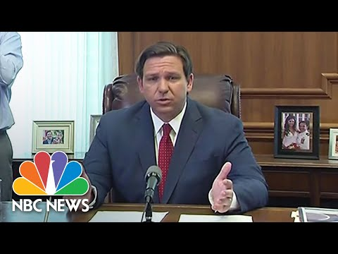 Florida Governor Issues Statewide Stay-At-Home Order | NBC News
