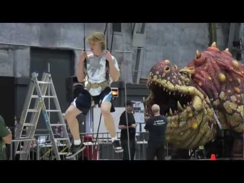 How to Train your Dragon Live Spectacular – Dragon Diaries #3 Rehearsals