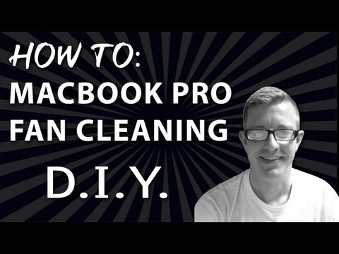How to Clean the Fans on Macbook Pro - Step by Step - Overheating