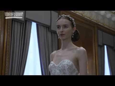 New York Bridal Fashion Week   Marchesa Bridal Spring Summer 2016 First Look