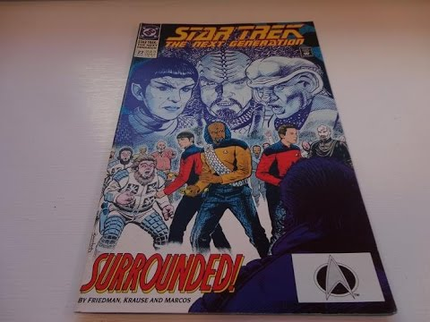 1991 Star Trek Comic Book-Auction Find