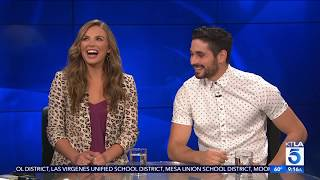 "Hannah Brown & Alan Bersten Discuss All Things ""Dancing with the Stars"""