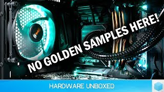 Final Gigabyte 8700K Test System and Overclocking Results