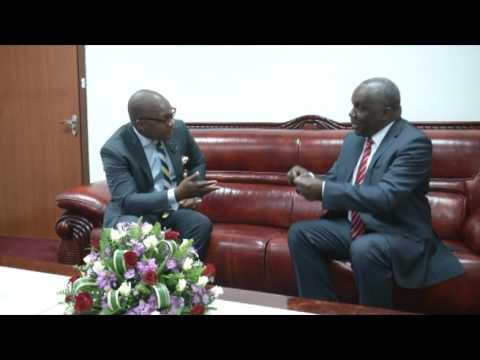 TIMES EXCLUSIVE WITH SPEAKER OF PARLIAMENT-RICHARD MSOWOYA -18 MARCH -