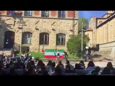 73° anniversario della Liberazione Comune Bagno di Romagna - YouTube