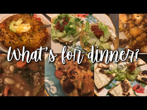 EASY + HEALTHY FAMILY DINNER IDEAS // WHAT'S FOR DINNER WEDNESDAY // LOW CARB + VEGETARIAN