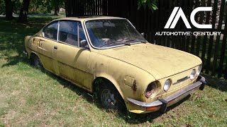 Abandoned rusty cars in Europe. Most popular Classic Cars