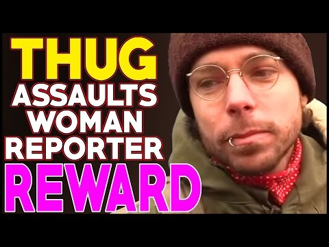 Female Reporter ASSAULTED At Woman's March In Edmonton, Alberta, CANADA