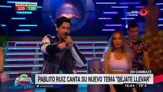 Pablito Ruiz canta su nuevo tema en Combate