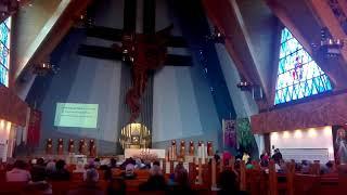 Zakończenie Nabożeństwa 24 godziny dla Pana - Schola Domowego Kościoła