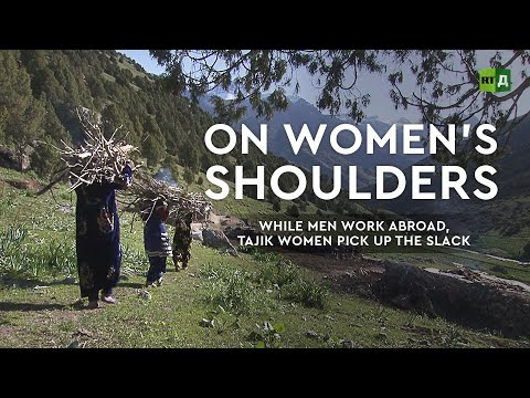 On women's shoulders