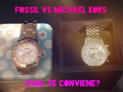 Michael Kors Vs Fossil...cual Reloj Te conviene Comprar