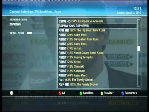 Hedendaags Satelite TV (Dreambox DM800 HD PVR) - YouTube QR-52