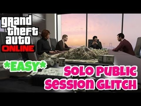 GTA Online Solo Public Lobby or Session Super Easy on Xbox One