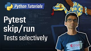 Python unit testing - skip/selectively run tests in pytest