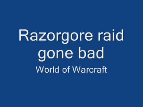 Raid Leader Freaks Out!!