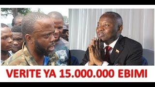 URGENT!!! VERITE DEVOILEE AFFAIRE 15000000 FILS MUKOKO LANCE UN MESSAGE FORT A VITAL KAMERHE