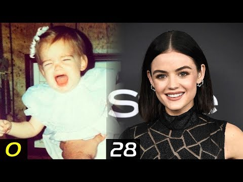 LUCY HALE Transformation - From 0 To 28 Years | Then and Now | Childhood | Before famous | After