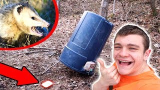 GIANT DEADFALL TRAP! (Primitive - Survival)