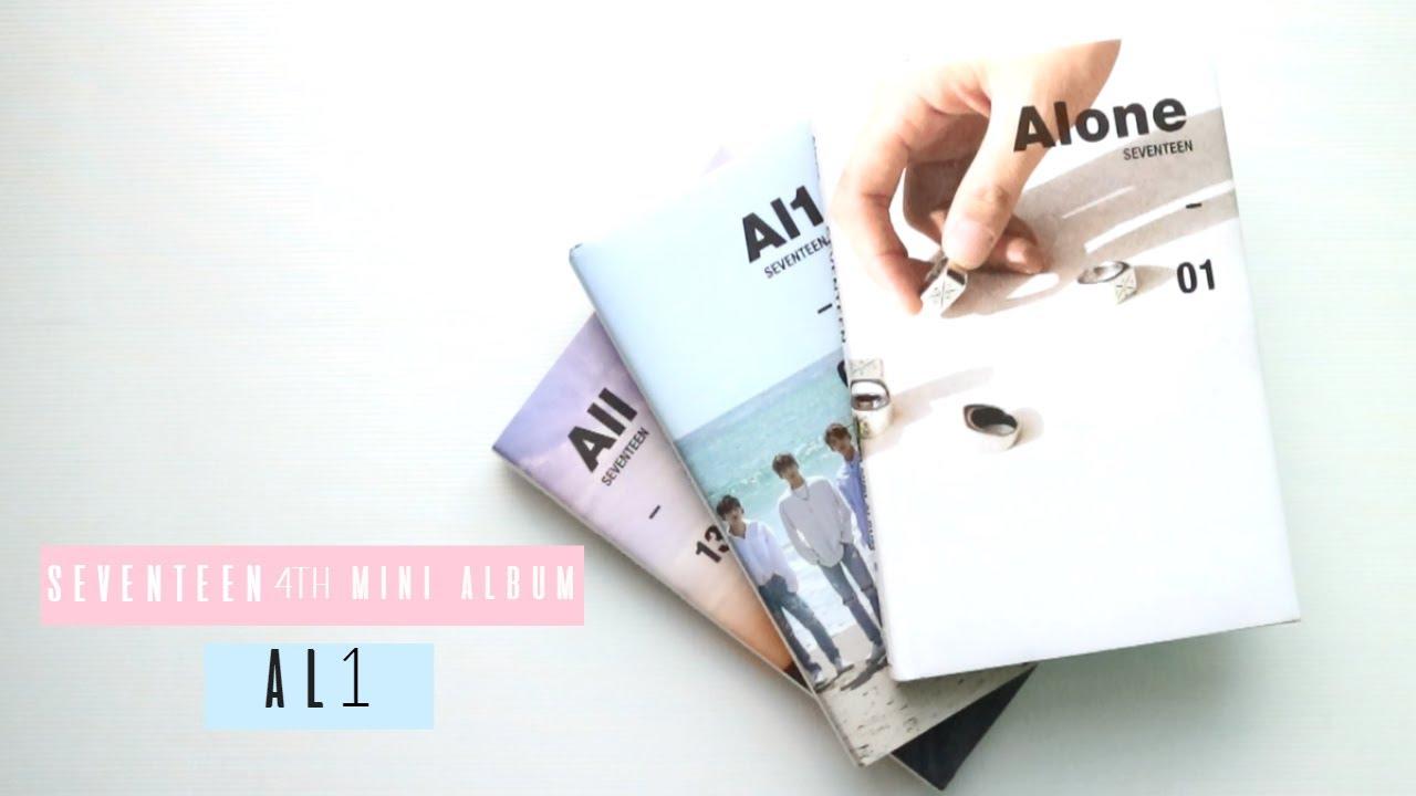 SEVENTEEN 4TH MINI ALBUM: AL1 [UNBOXING]