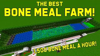 Best Bone Meal Farm after 0-Tick Farms are Removed! This farm BROKE :(