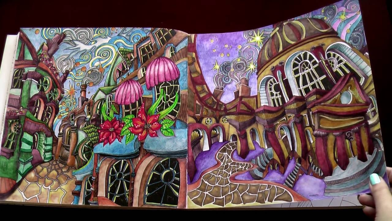 Th the magical city colouring in book -  The Magical City Coloring Book