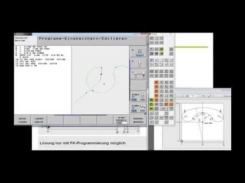 Heidenhain iTNC 530   Webinar   FK   Flexible Konturprogrammierung