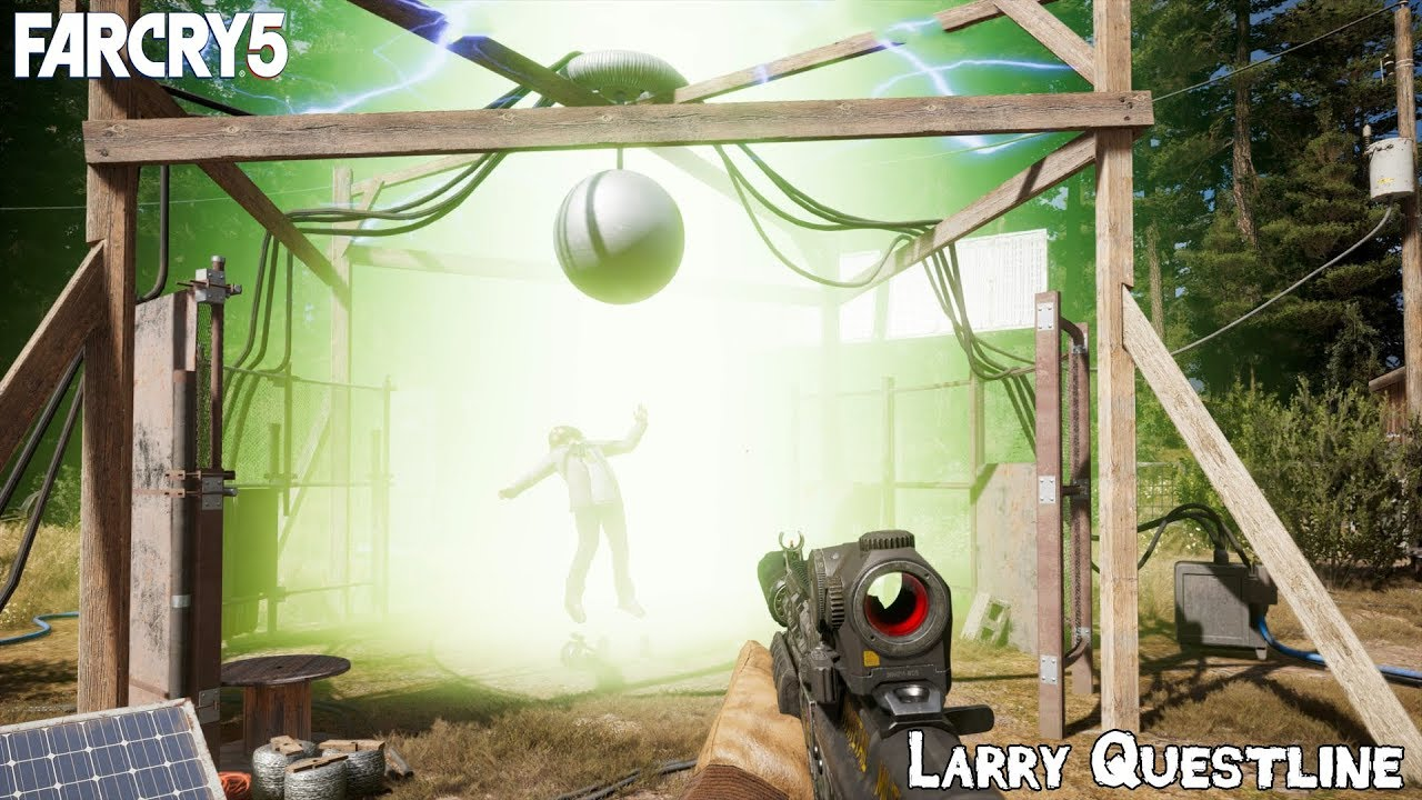 Far Cry 5 Larry Parker Out Of This World Questline The Magnopulser Youtube