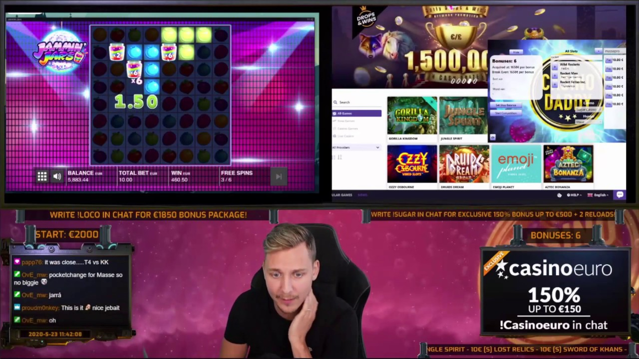 Casino slot wins this week