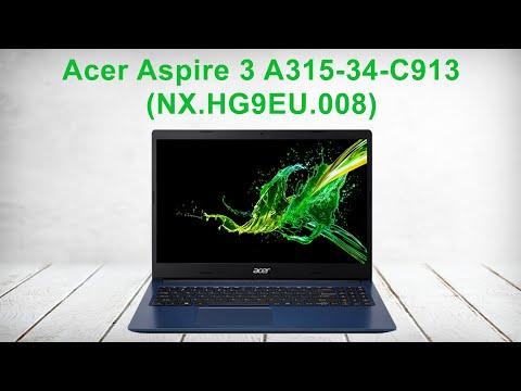 Распаковка Acer Aspire 3 A315-34-C913 (NX.HG9EU.008)