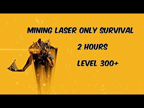 Warframe Endgame Survival With Only Mining Lasers! thumbnail