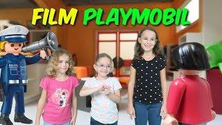 FILM PLAYMOBIL 👮 Massilya fait venir ses cousines chez Léa! La police intervient (hors série)