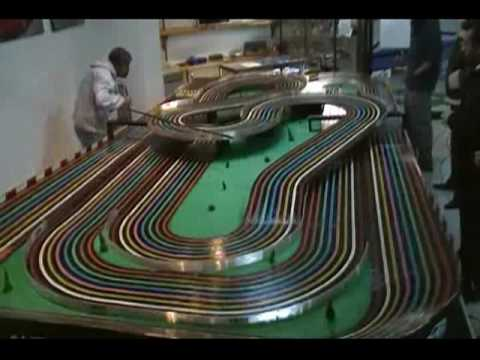 Slot Cars Video 19 Bsrt Wizzard Tyco Competition Unlimited In