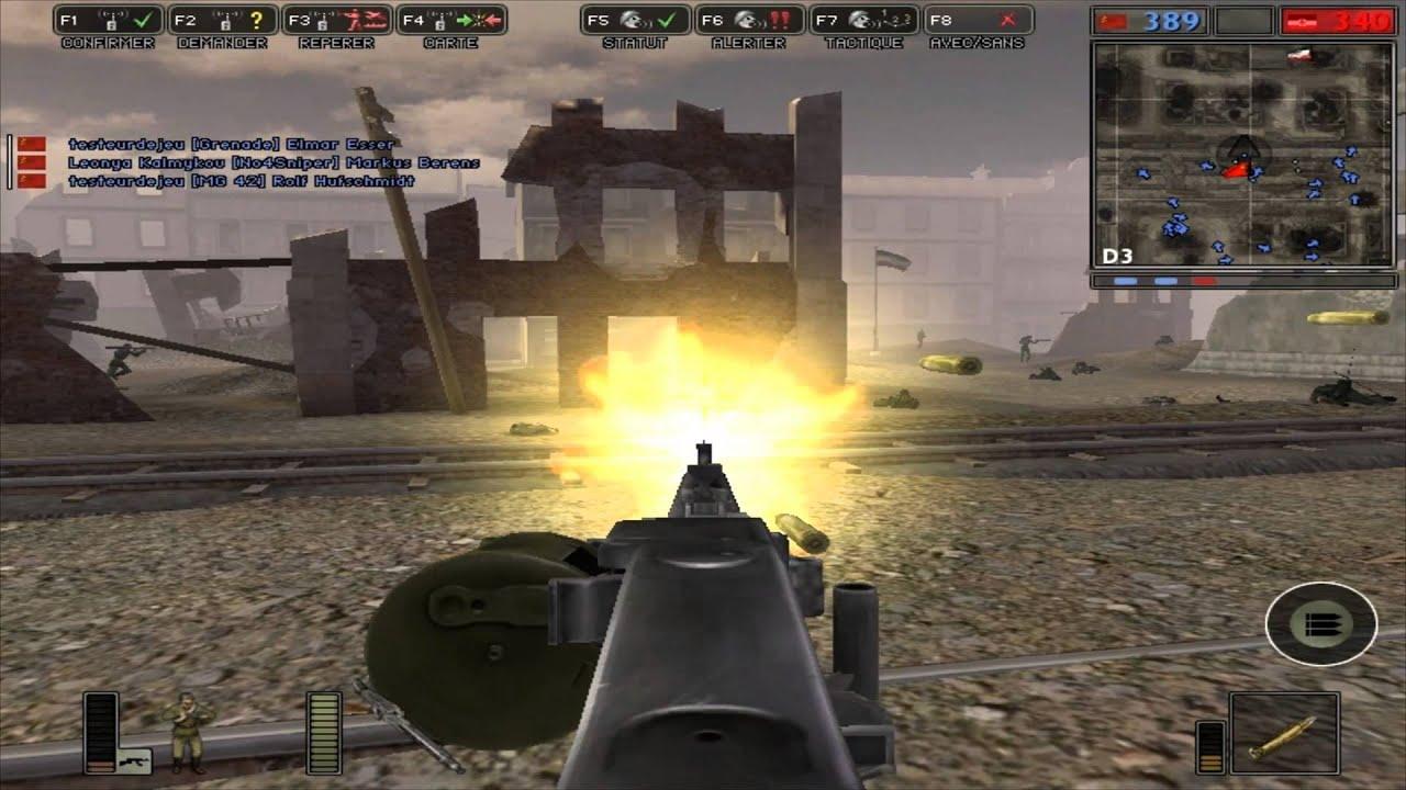 top 10 des jeux de seconde guerre mondiale gameplay de battlefield 1942 hd youtube. Black Bedroom Furniture Sets. Home Design Ideas